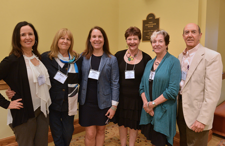 Keynotes & Conveners: (l to r) Ruth Behar, Leonor Arfuch, Leigh Gilmore, Sidonie Smith, Julia Watson, & Vincent Carretta.